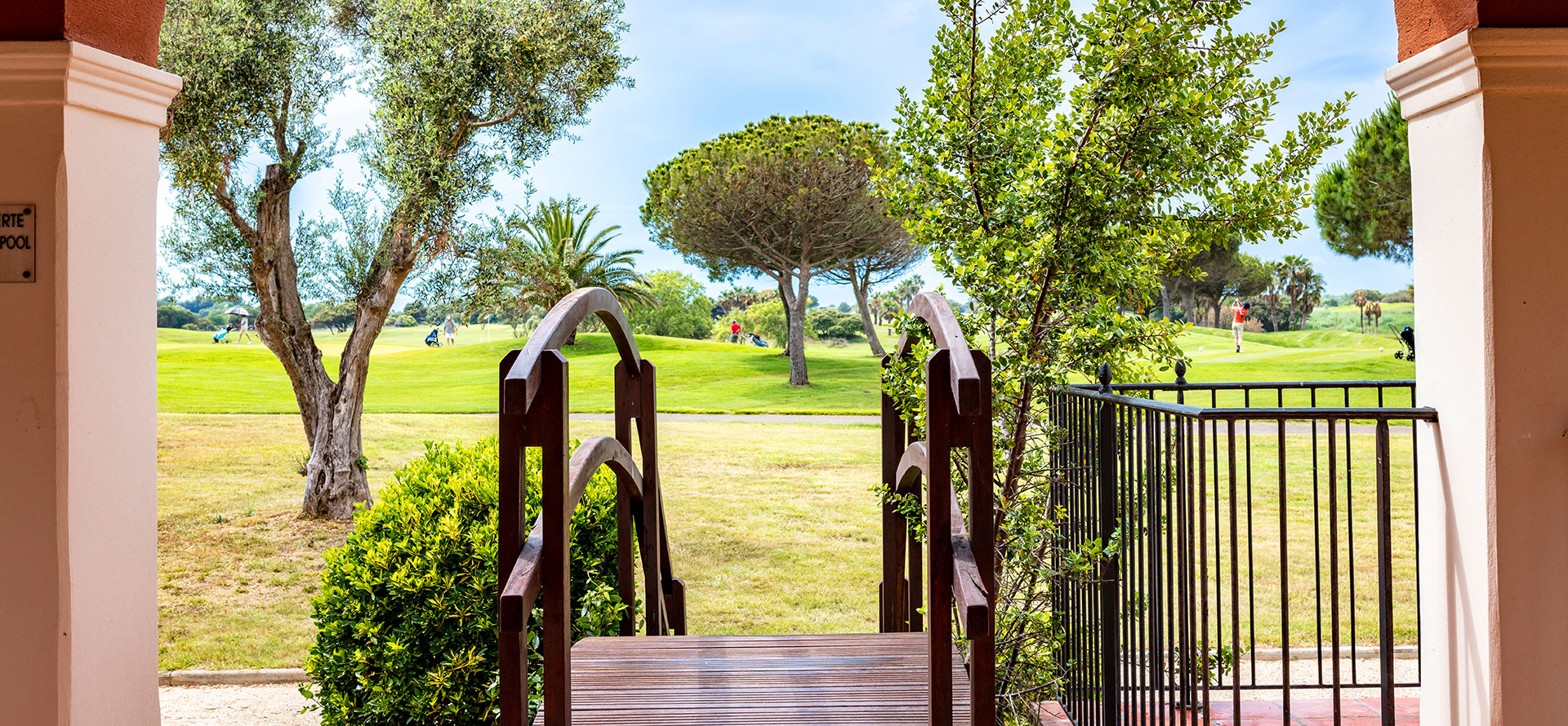 Die Lobby des 4-Sterne-Hotels Palmyra Golf in Le Cap d'Agde